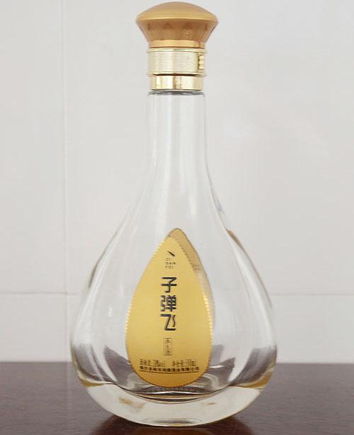 高白玻璃小酒瓶