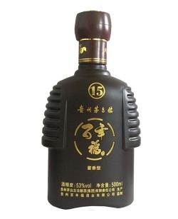 内蒙古喷釉烤花瓶
