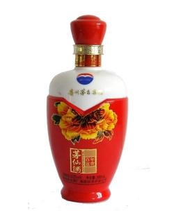 定制仿陶喷釉烤花瓶