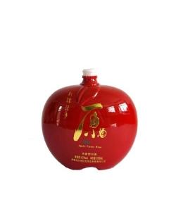 喷釉烤花瓶仿陶酒瓶
