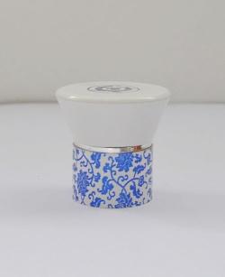 塑料瓶盖青花装饰盖