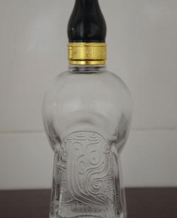 精白玻璃小酒瓶