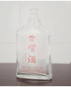 烤花高白玻璃瓶