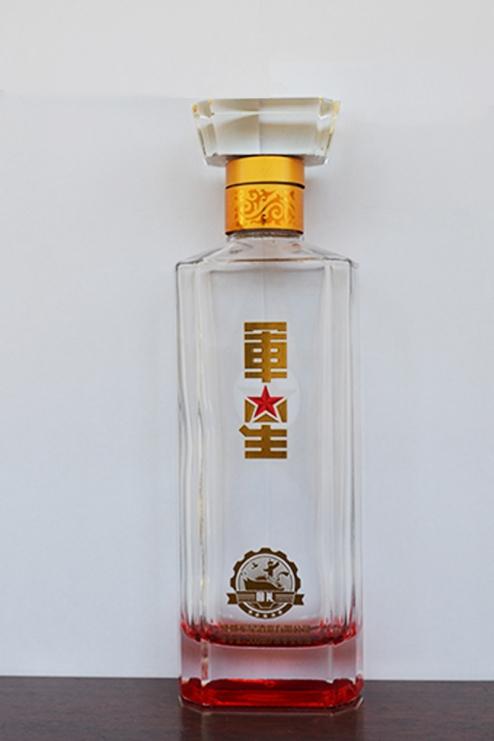 高档白玻璃瓶