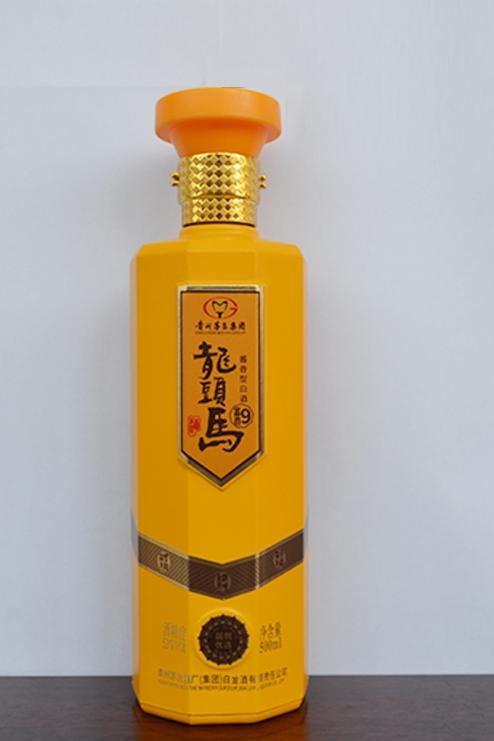 彩釉烤花瓶