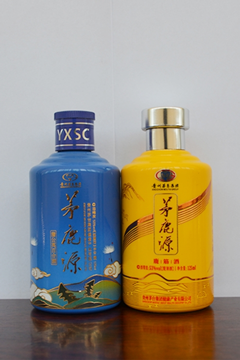 隆昌彩釉玻璃瓶