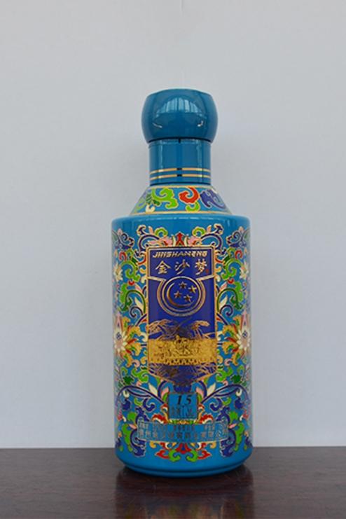 彩釉酒瓶批发