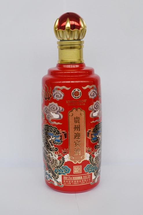 山东彩釉烤花玻璃瓶
